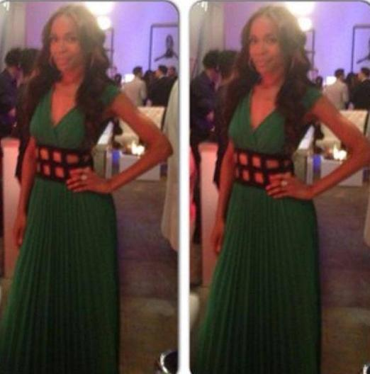 Michelle_Williams_Fondren_Fashion_House_Green_Dress