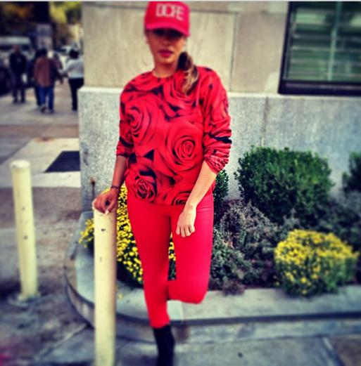 LaLa_Anthony_Revolution_Riche_Roses_Crewneck_Sweater