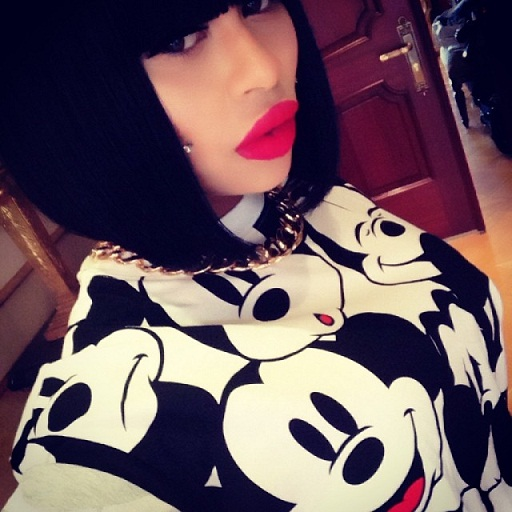 Blac_Chyna_Mickey_Mouse_Shirt